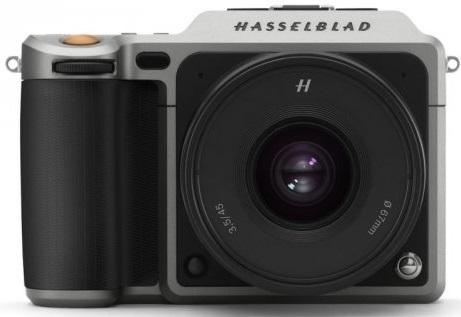 HASSELBLAD X1D-50c stříbrný + XCD 45 mm