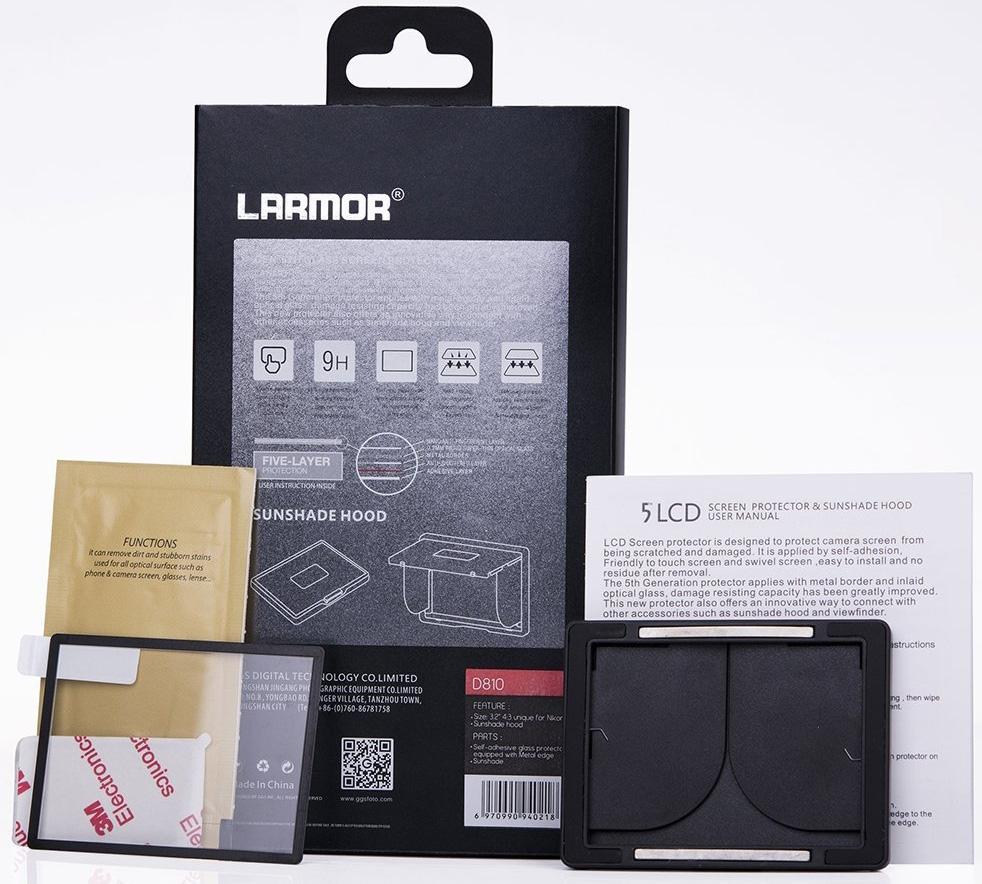 LARMOR ochranné sklo na LCD 5. generace pro Canon EOS 5D IV