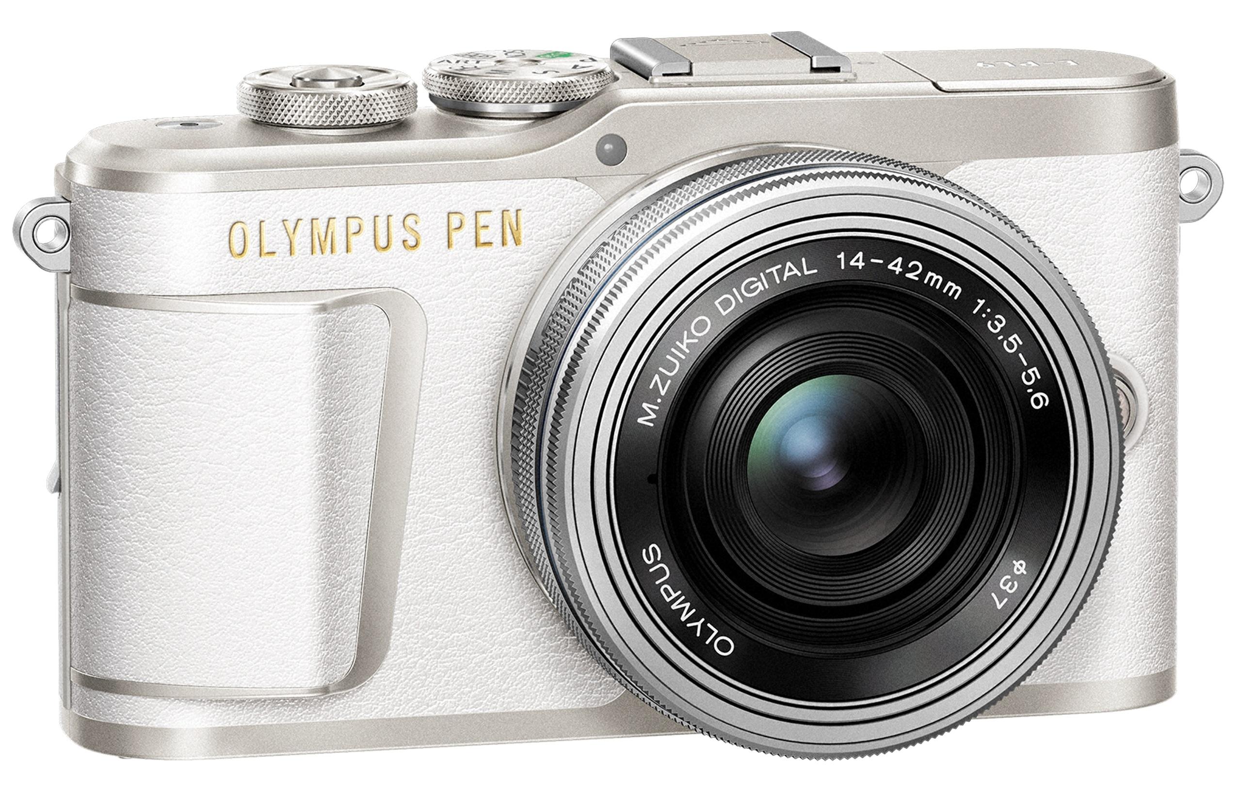 OLYMPUS E-PL9 bílý + 14-42mm EZ