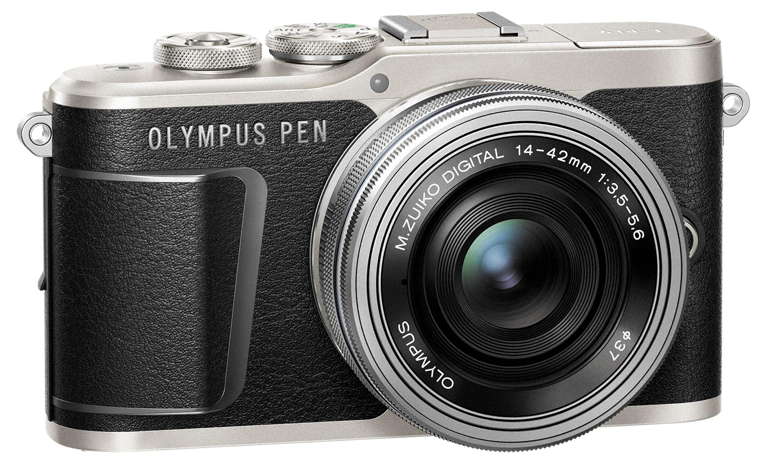 OLYMPUS E-PL9 černý + 14-42mm EZ