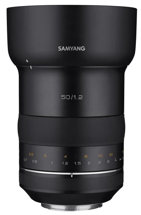 SAMYANG 50 mm f/1,2 XP pro Canon EF