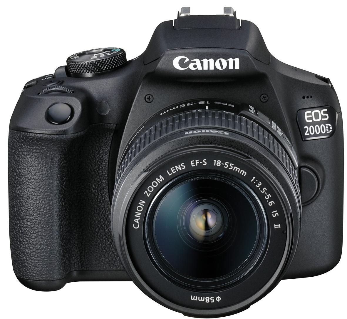 CANON EOS 2000D + 18-55 mm IS II