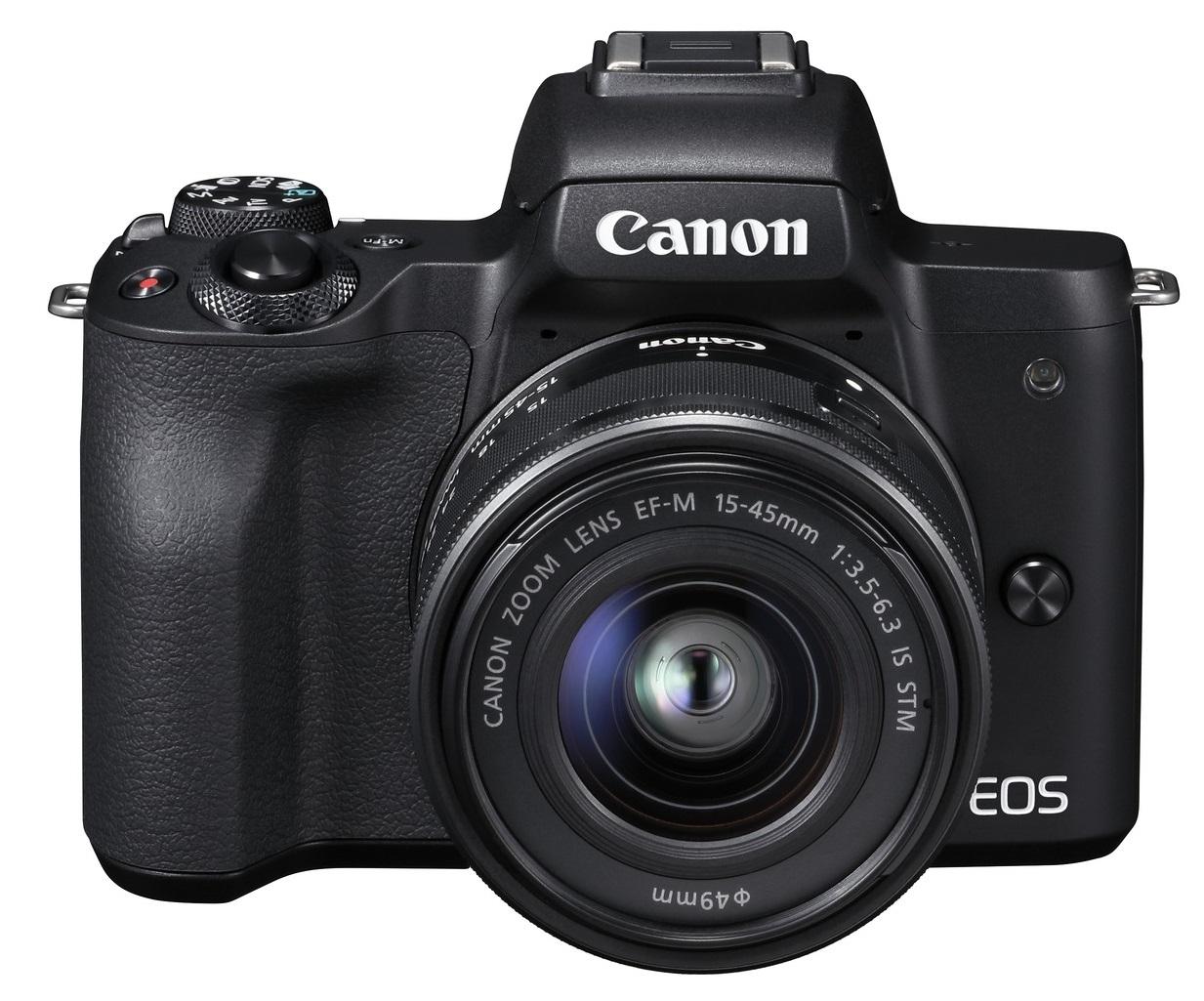 CANON EOS M50 černý + 15-45 mm