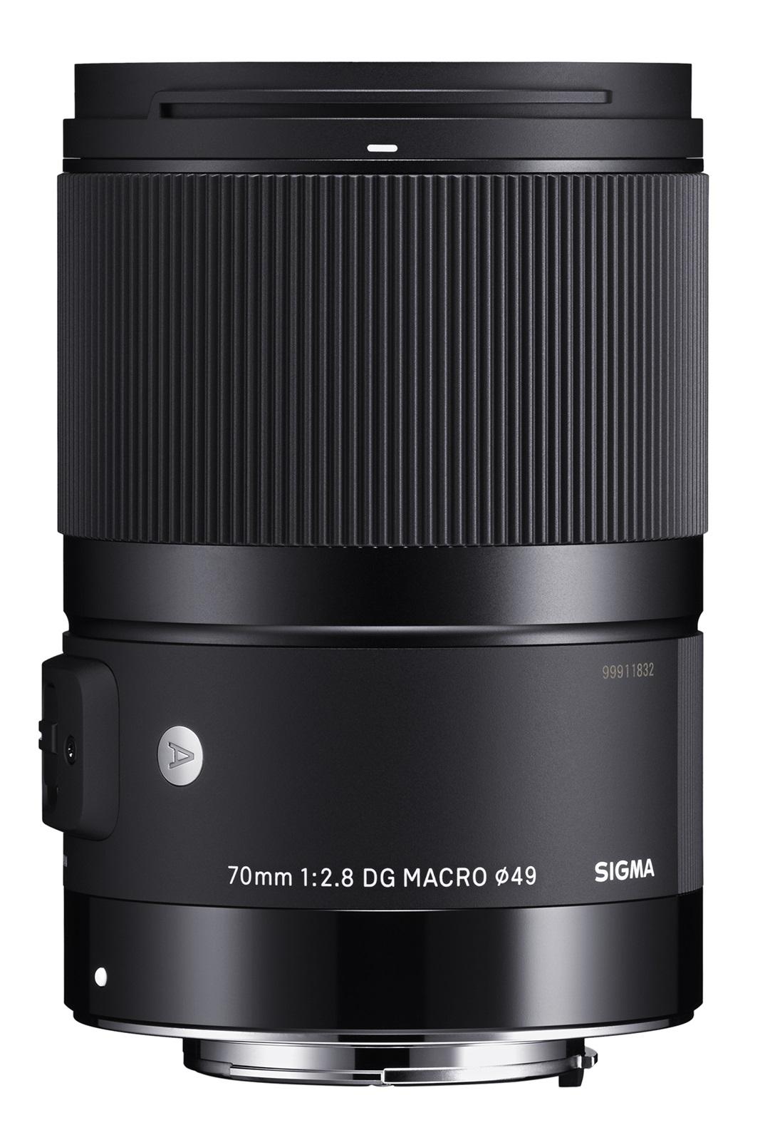 SIGMA 70 mm f/2,8 DG Macro Art pro Canon