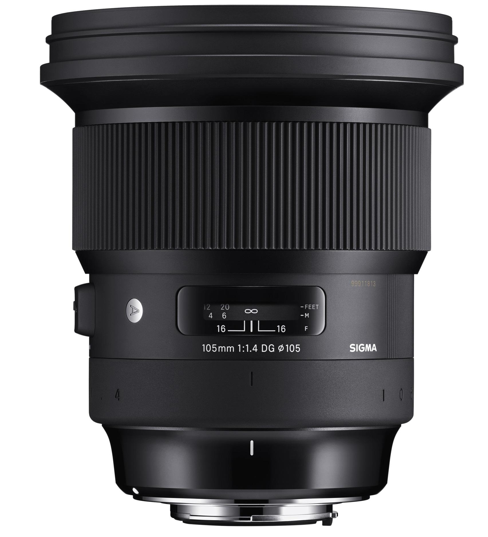 SIGMA 105 mm f/1,4 DG HSM Art pro Sony E