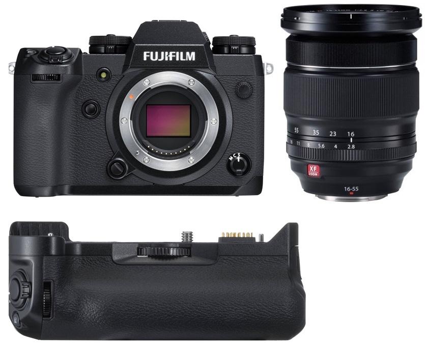 FUJIFILM X-H1 + 16-55 mm + grip VPB-XH1