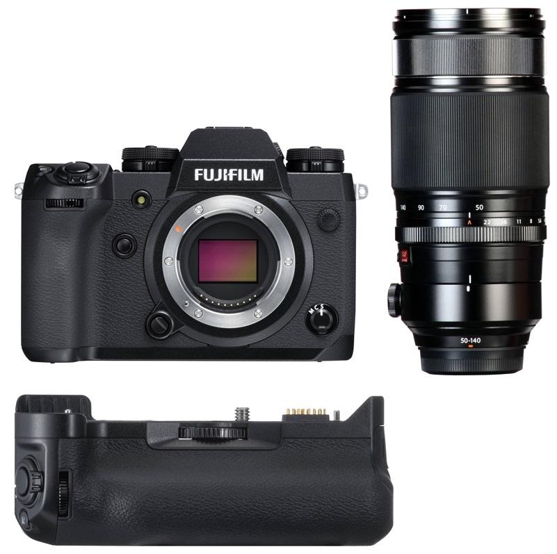 FUJIFILM X-H1 + 50-140 mm + grip VPB-XH1