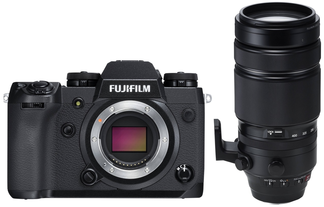 FUJIFILM X-H1 + 100-400 mm