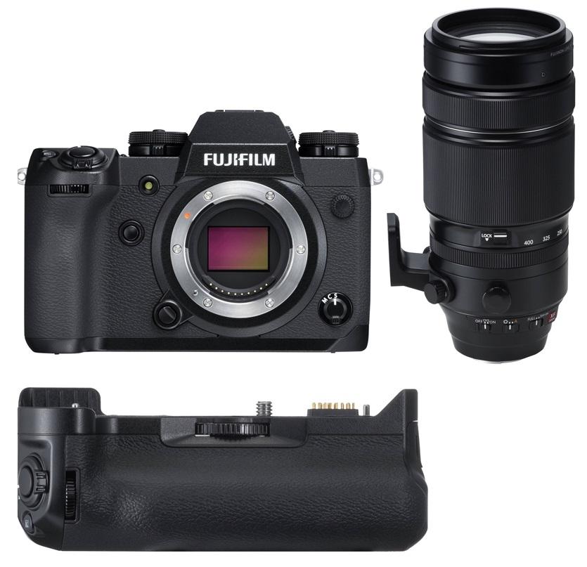 FUJIFILM X-H1 + 100-400 mm + grip VPB-XH1