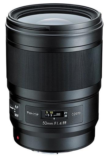 TOKINA 50 mm f/1,4 FF Opera pro Nikon F