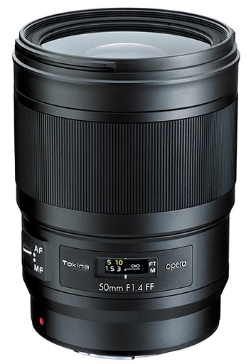 TOKINA 50 mm f/1,4 FF Opera pro Canon EF