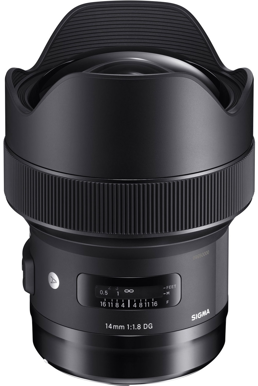 SIGMA 14 mm f/1,8 DG HSM Art pro Sony E