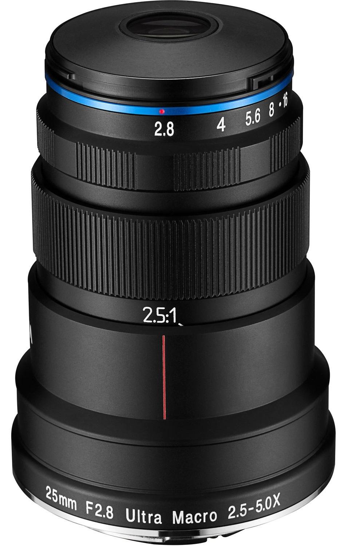 LAOWA 25 mm f/2,8 2,5-5x Ultra Macro pro Pentax K