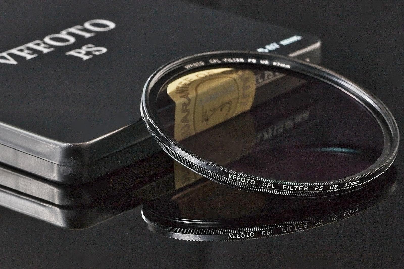 VFFOTO filtr polarizační cirkulární PS US 72 mm