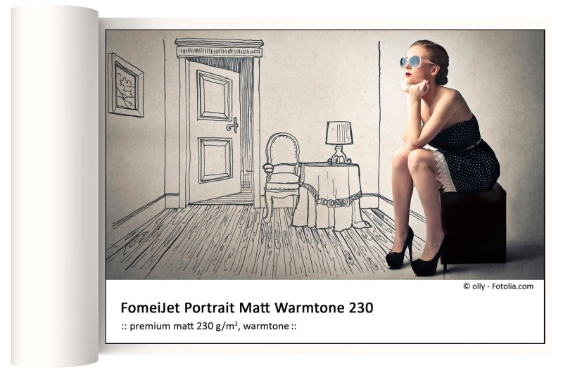 FOMEI FomeiJet  61,0cm x 30m Portrait Matt 230