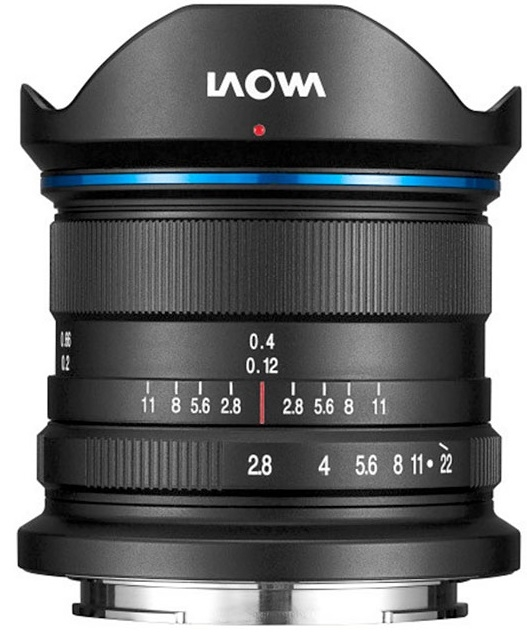 LAOWA 9 mm f/2,8 Zero-D pro Canon EOS M