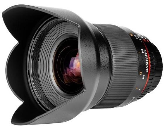 SAMYANG 16 mm T2,2 VDSLR ED AS UMC CS pro Nikon F (APS-C)