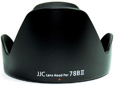JJC sluneční clona LH-78BII (EW-78BII) pro Canon EF 28-135 IS USM