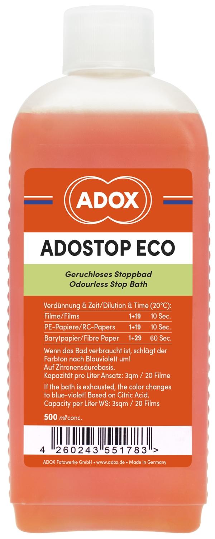 ADOX ADOSTOP ECO přerušovač 500 ml
