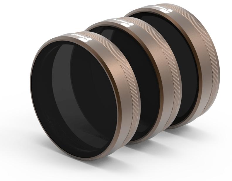 POLARPRO sada filtrů ND4/ND8/ND16 pro Phantom 4 PRO