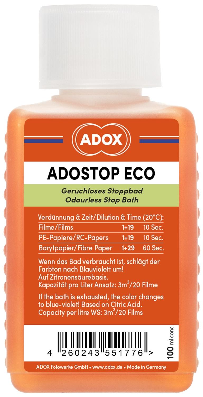 ADOX ADOSTOP ECO přerušovač 100 ml