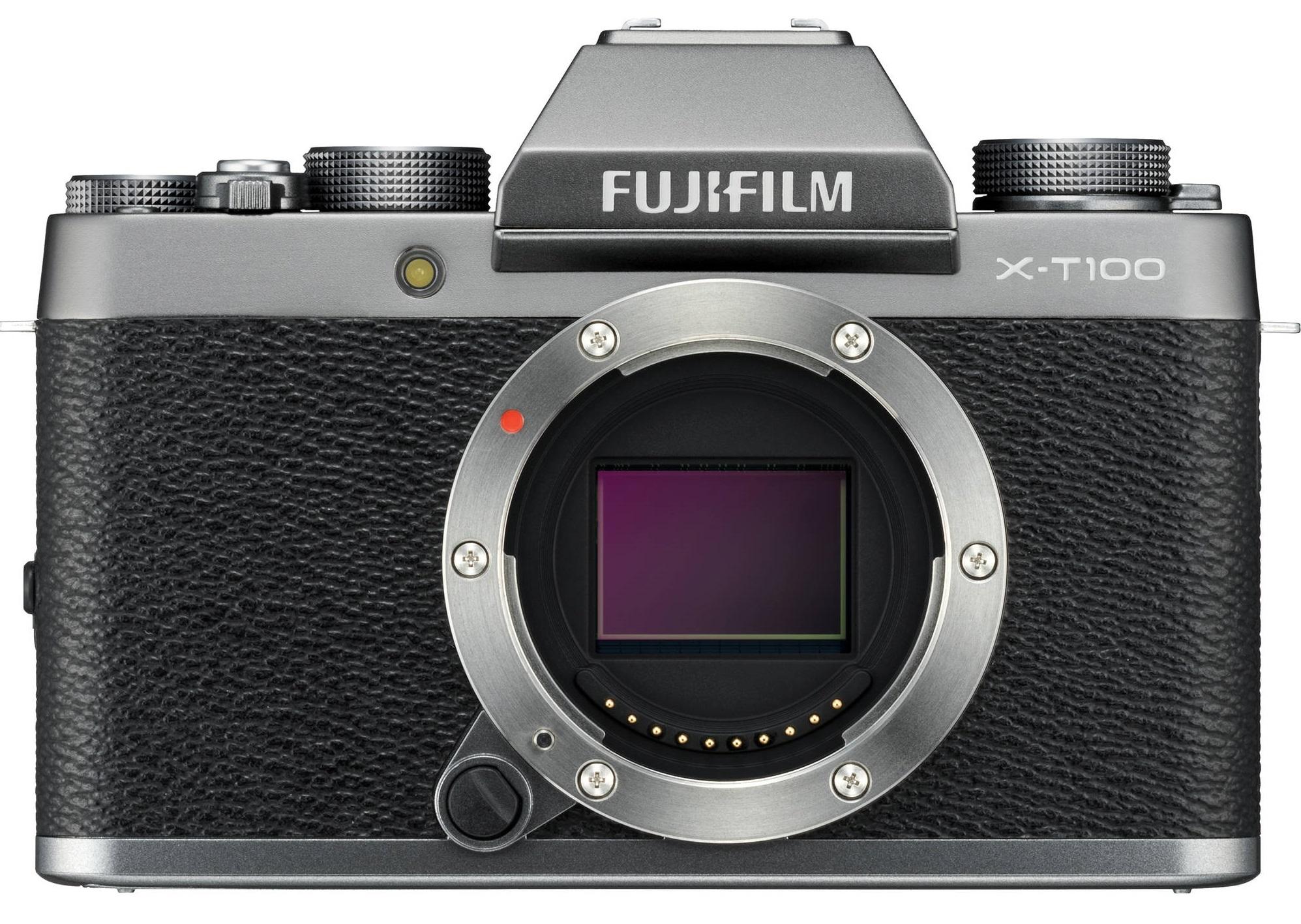 FUJIFILM X-T100 stříbrný - tělo