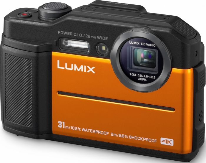 PANASONIC Lumix DMC-FT7 oranžový
