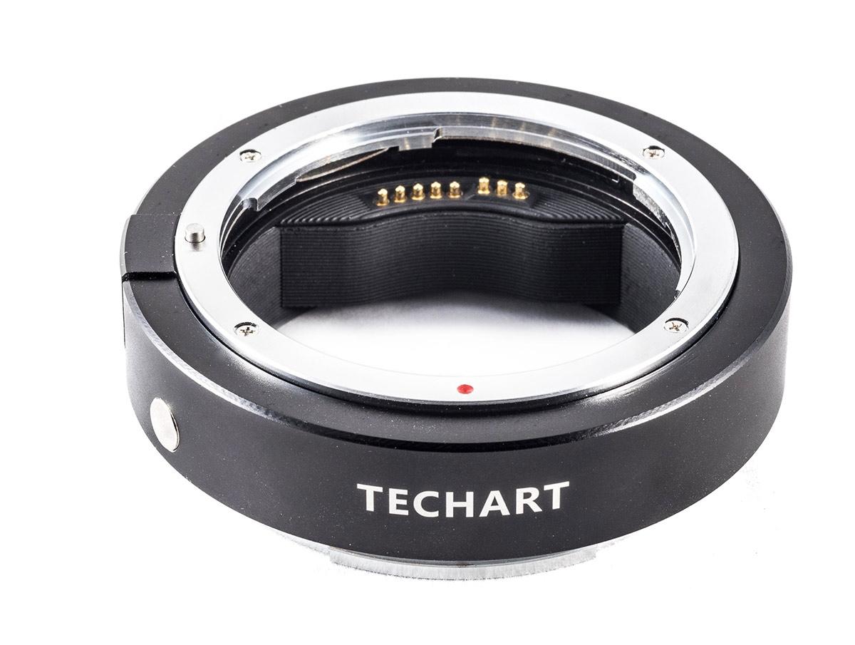 TECHART adaptér objektivu Canon EF na tělo Fujifilm GFX