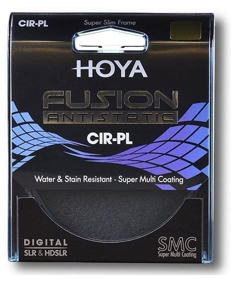 HOYA filtr polarizační cirkulární FUSION ANTISTATIC 43 mm