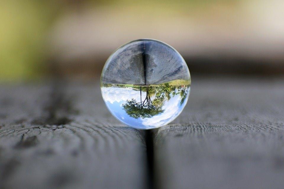 LARMOR křišťálová koule pro kreativní fotografování 90mm