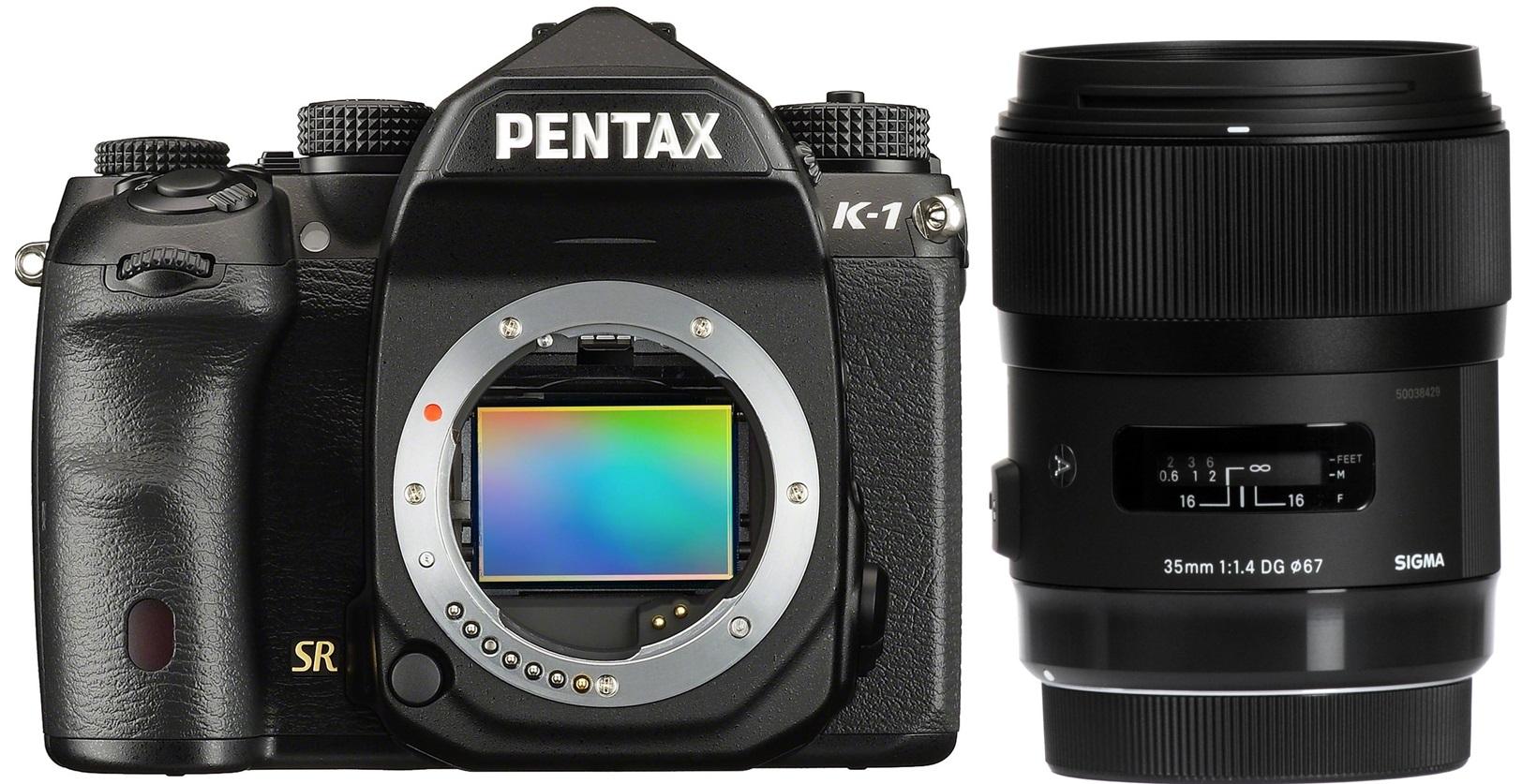 PENTAX K-1 tělo