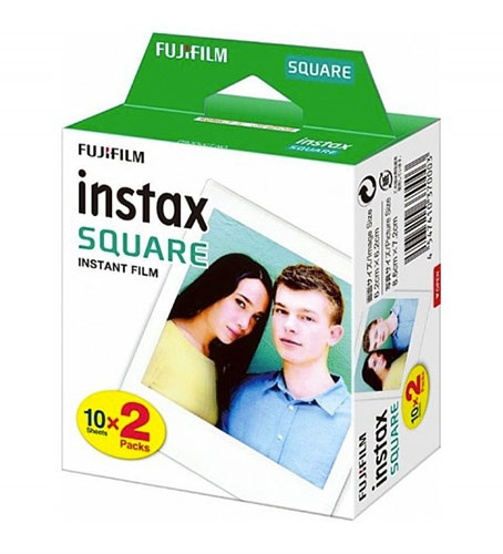 FUJIFILM INSTAX COLORFILM SQUARE (20KS)