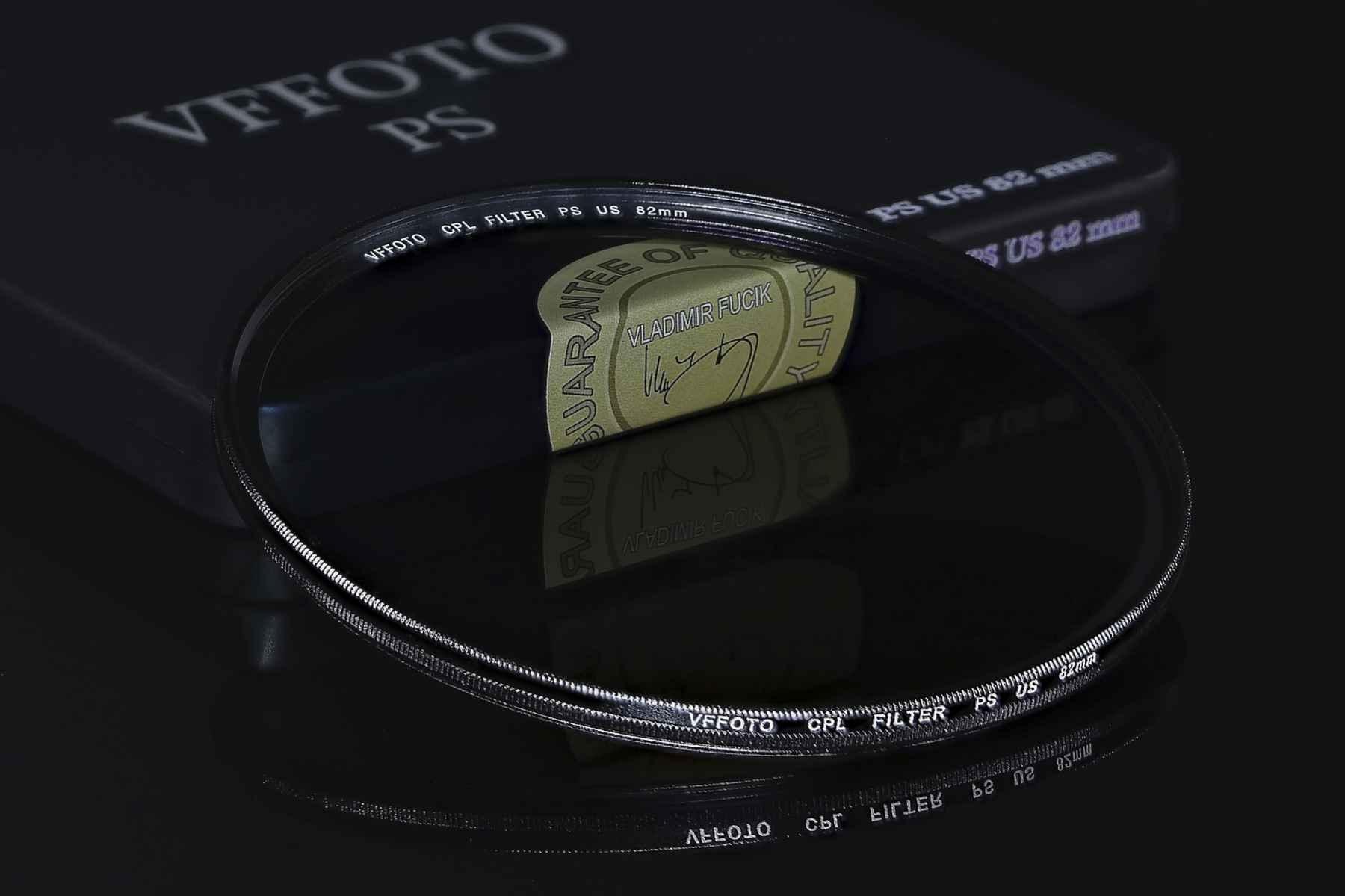 VFFOTO filtr polarizační cirkulární PS US 82 mm