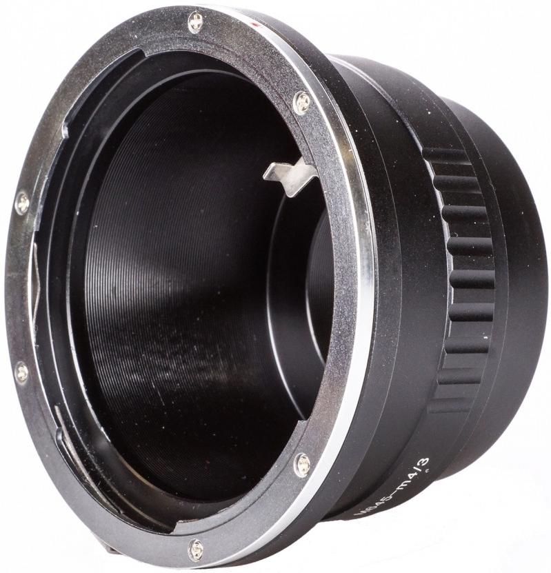 B.I.G. adaptér objektivu Mamiya 645 na tělo Olympus/Panasonic MFT