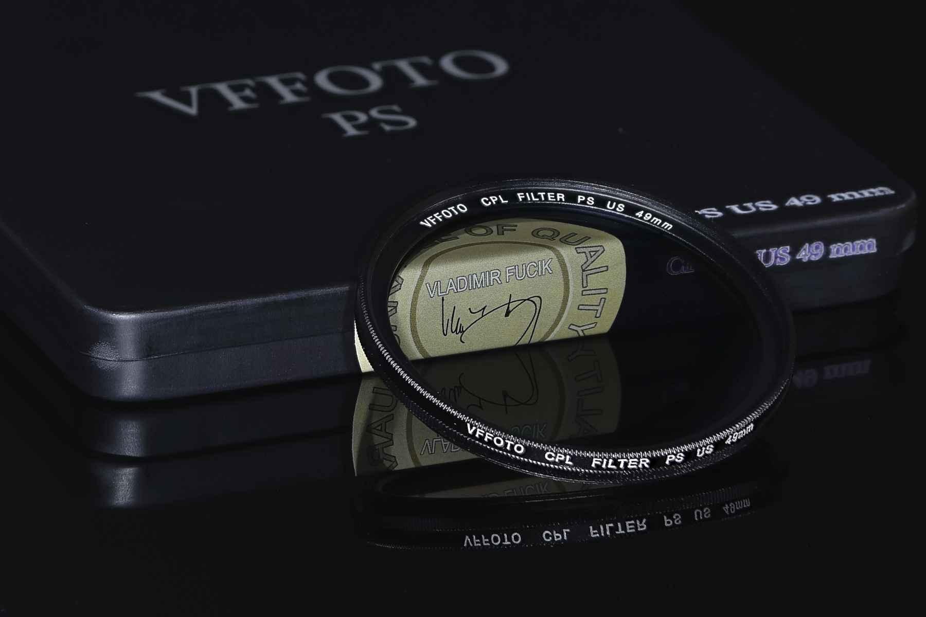 VFFOTO filtr polarizační cirkulární PS US 49 mm