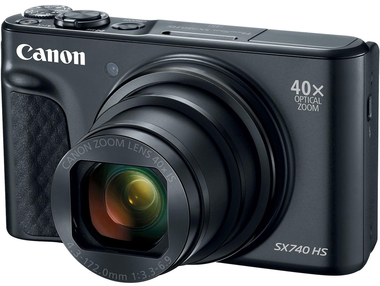 CANON PowerShot SX740 HS černý