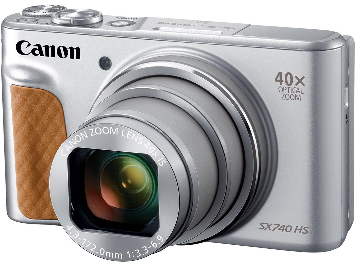 CANON PowerShot SX740 HS stříbrný