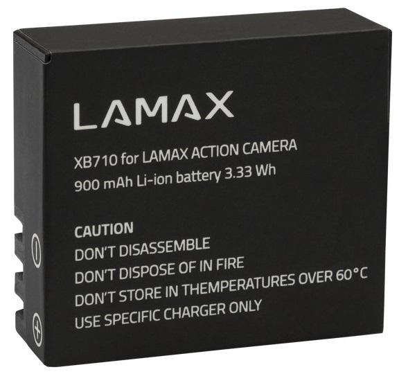 LAMAX Baterie pro Action X7.1 Electra
