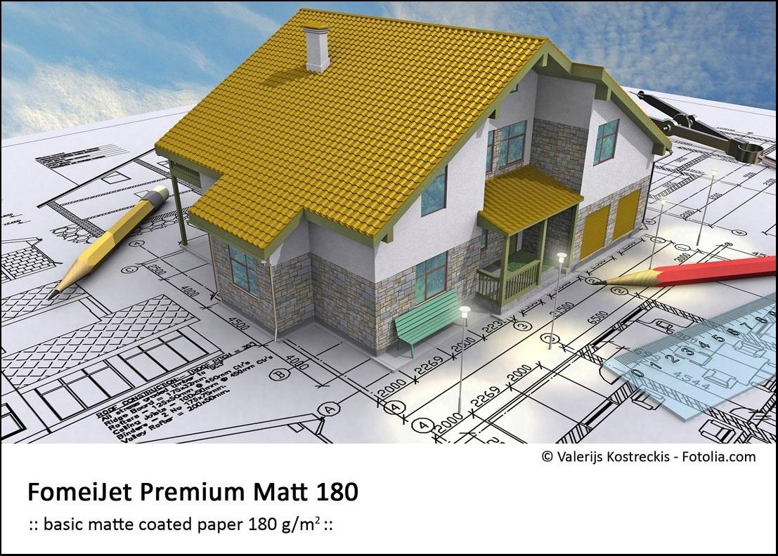 FOMEI Inkjet A4/5 FomeiJet Premiuml Matt 180, testovací balení