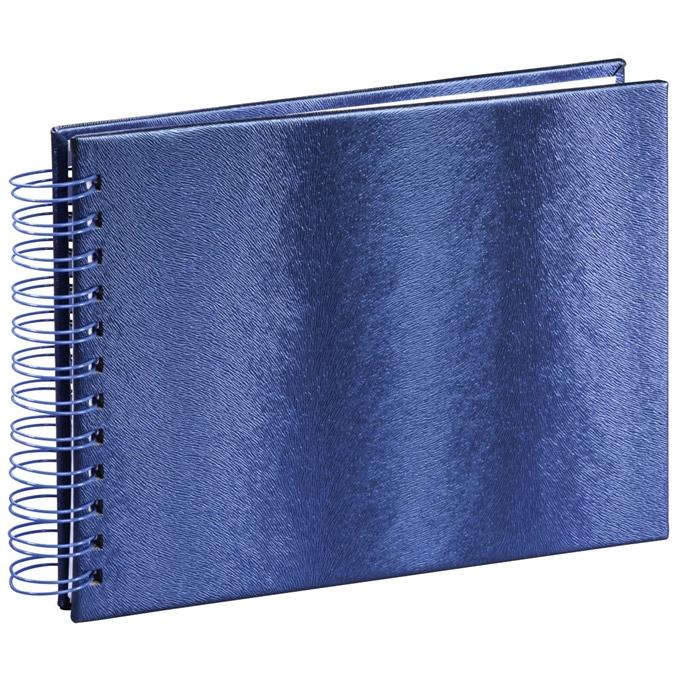 HAMA  TANGO  klasické/50 stran, 24x17, kroužková vazba, modrá, bílé listy