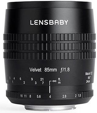 LENSBABY Velvet 85 mm f/1,8 pro Canon EF