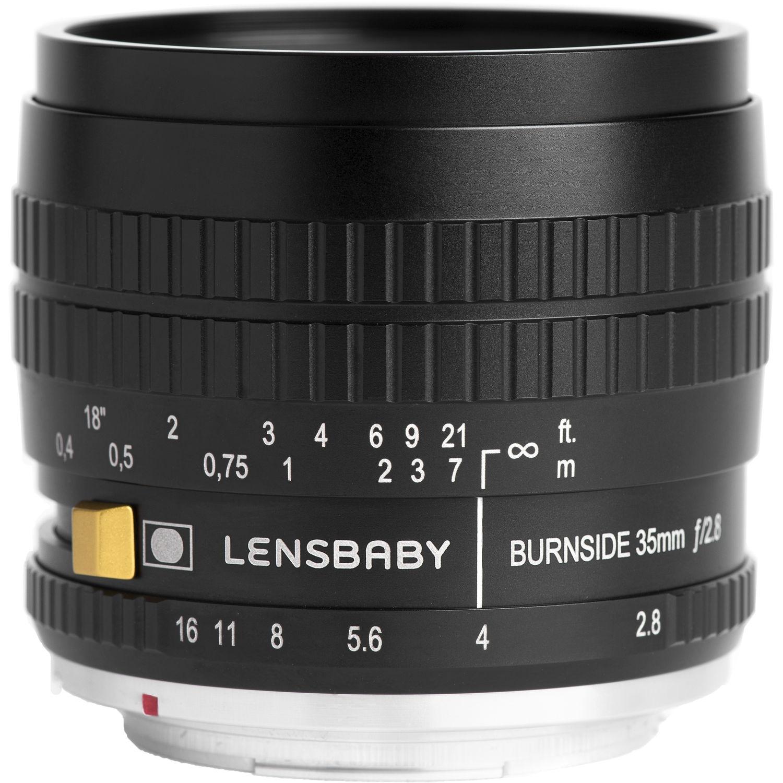 LENSBABY Burnside 35 mm f/2,8 pro Fujifilm X