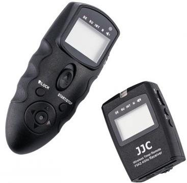 JJC spoušť rádiová s časosběrem WT-868 univerzální