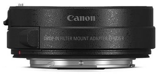 CANON EF-EOS R adaptér s Drop-In polarizačním filtrem A