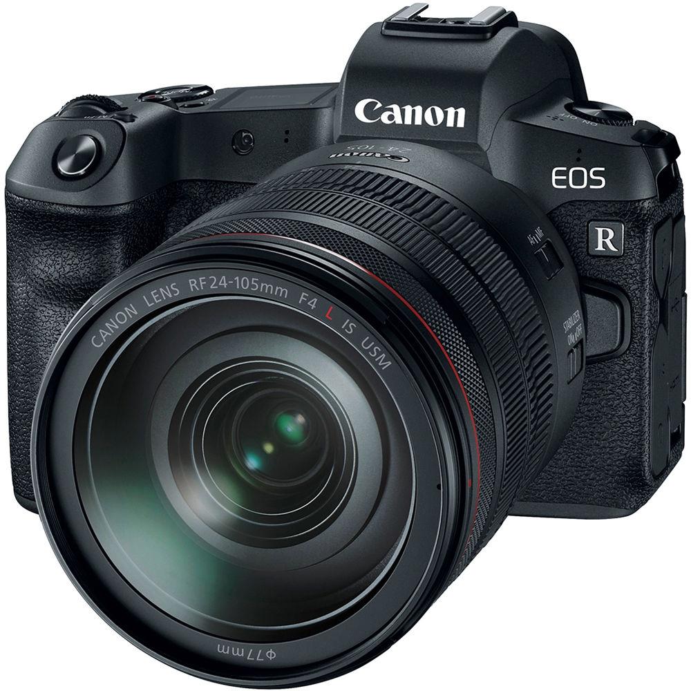 CANON EOS R + 24-105 mm + adaptér EF-EOS R