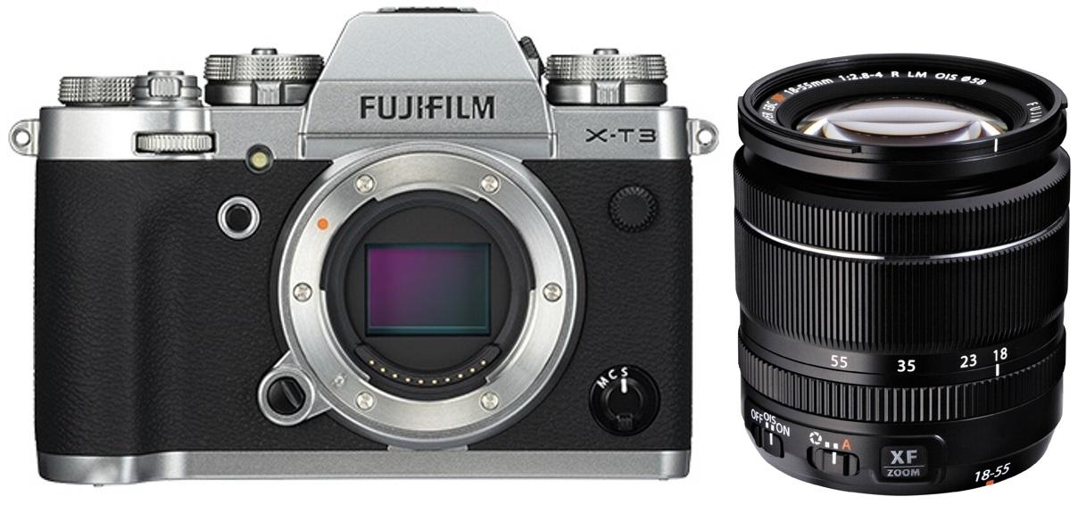 FUJIFILM X-T3 + 18-55 mm černý