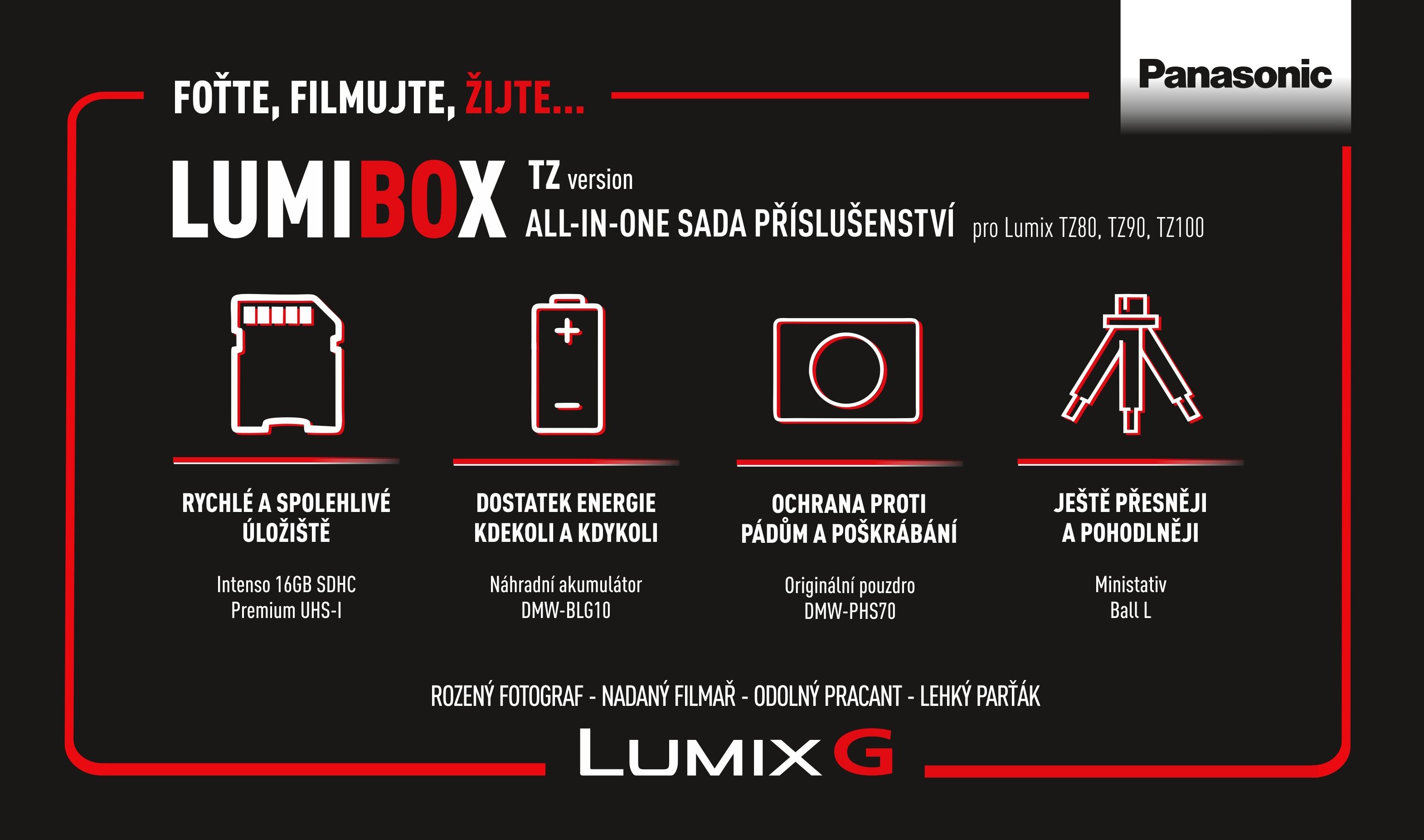 PANASONIC LumiBox sada příslušenství pro TZ