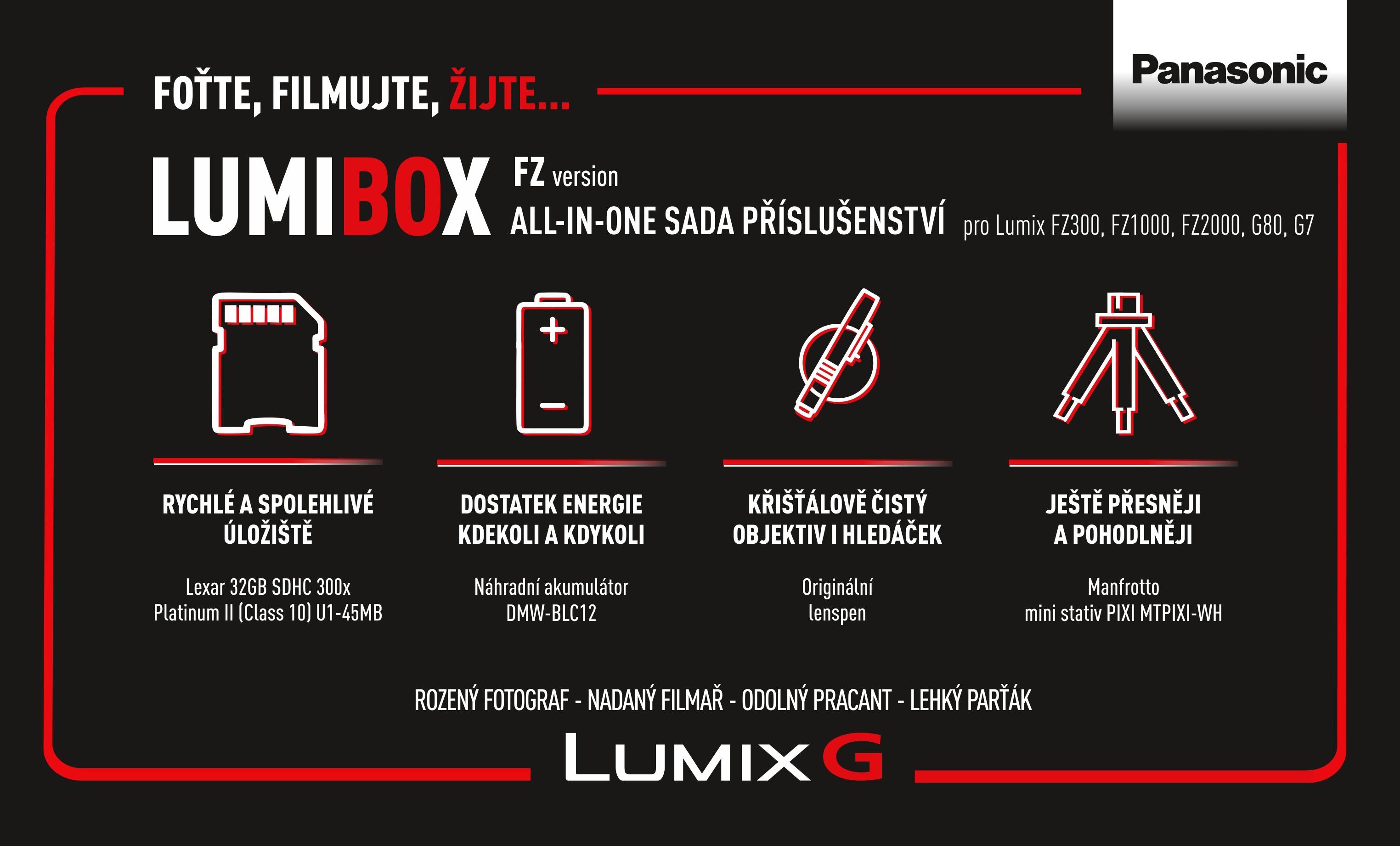 PANASONIC LumiBox sada příslušenství pro FZ