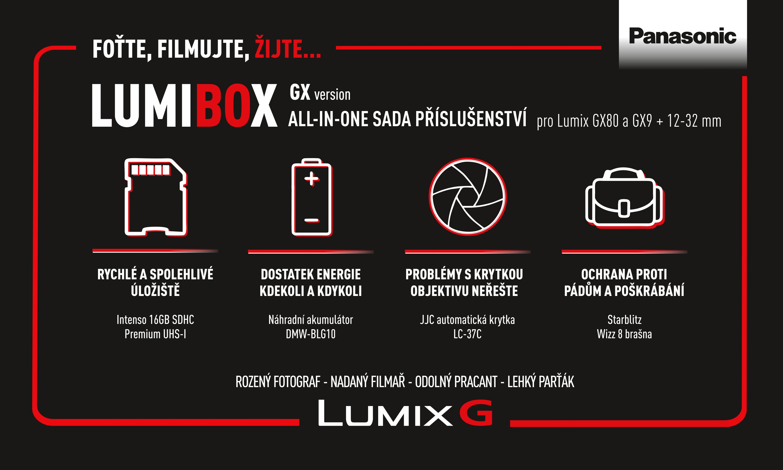 PANASONIC LumiBox sada příslušenství pro GX