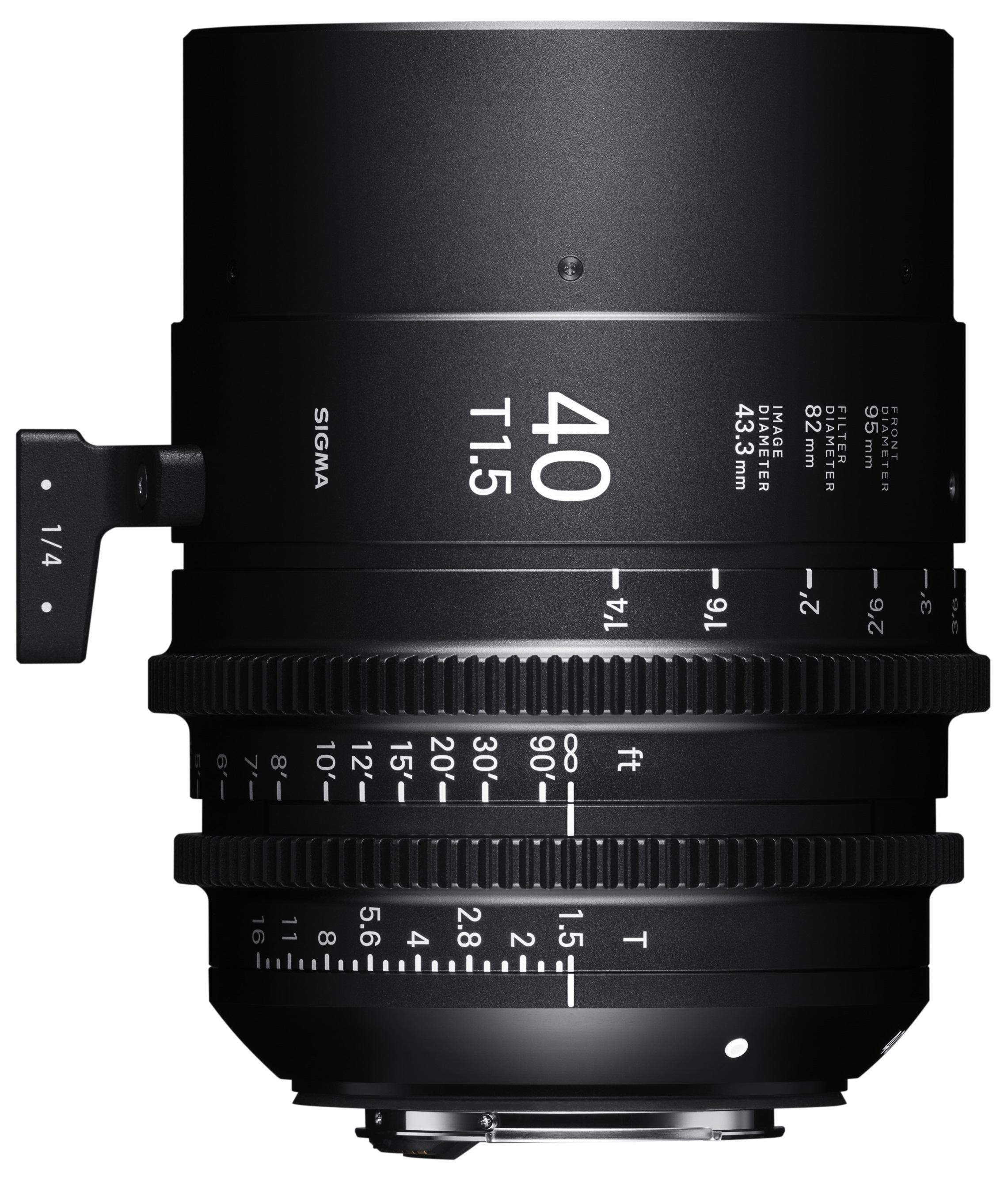 SIGMA 40 mm T1,5 FF PL-mount